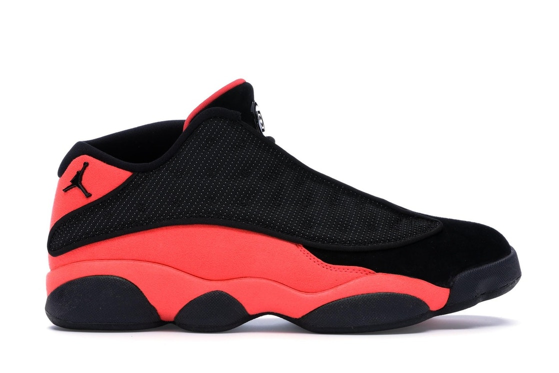 13150d7da3bff6 Jordan 13 Retro Low Clot Black Red - AT3102-006