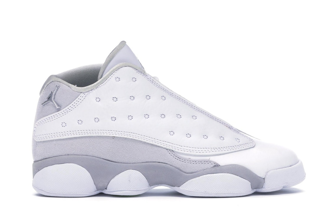 39f0f2e17af8 Sell. or Ask. Size  4.5. View All Bids. Jordan 13 Retro Low Pure Platinum  ...