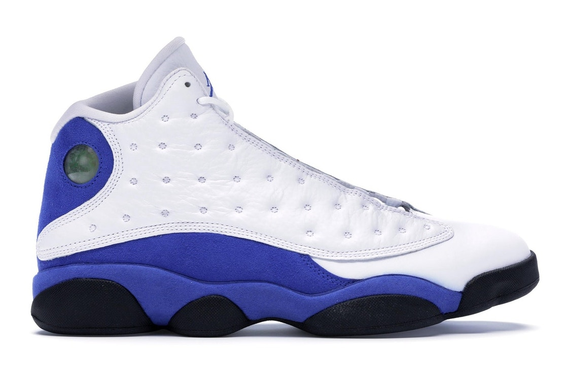 separation shoes 3bcd6 12050 Jordan 13 Retro White Hyper Royal Black