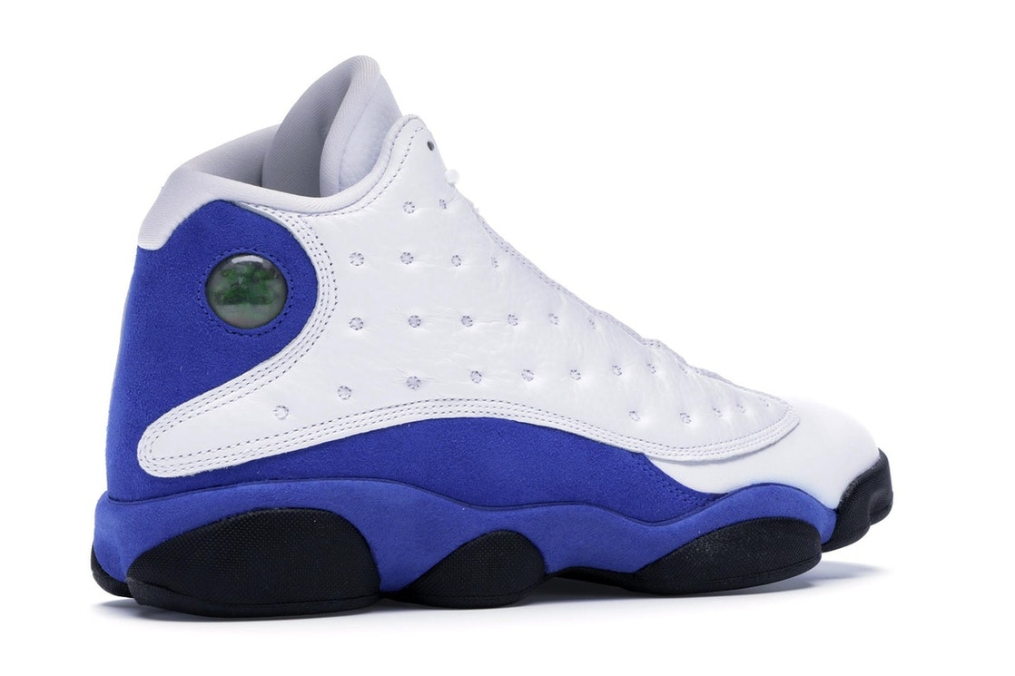 006a4e3e2a033 Jordan 13 Retro White Hyper Royal Black