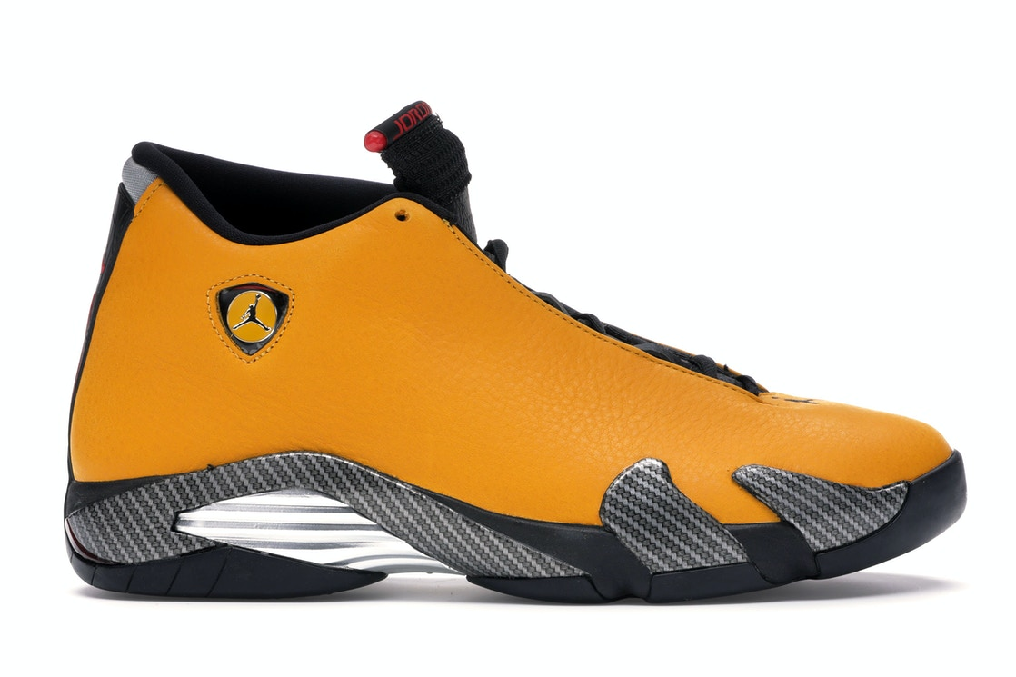 more photos 4f1f3 73410 Jordan 14 Retro Ferrari University Gold