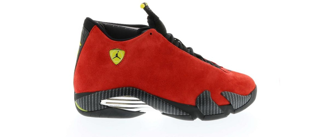 wholesale dealer 6a397 26ac0 Jordan 14 Retro Ferrari - 654459-670