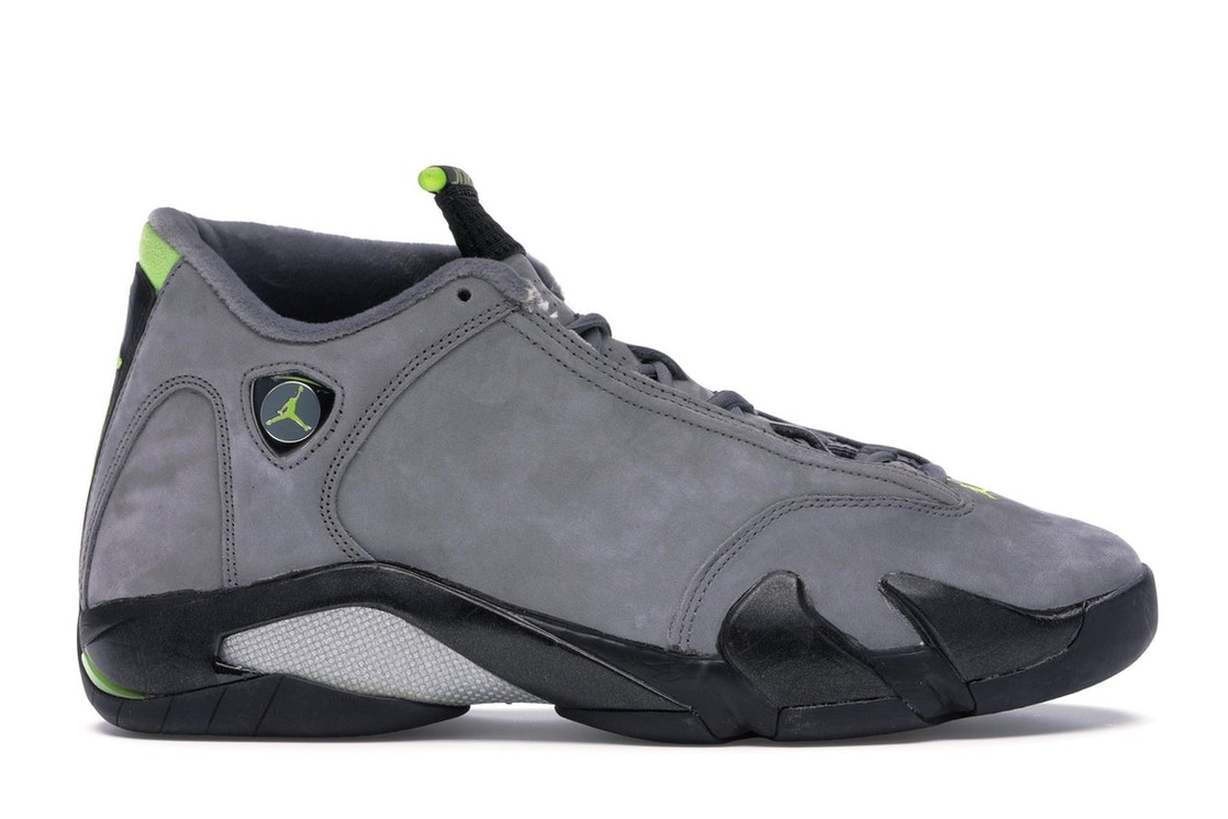 b5ba3abf985e50 Sell. or Ask. Size  14. View All Bids. Jordan 14 Retro Graphite Chartreuse ( 2005)