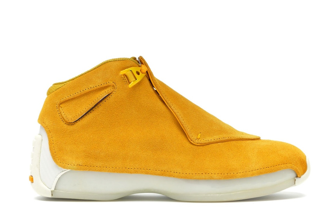 meet a4f44 e546f Sell. or Ask. Size  9.5. View All Bids. Jordan 18 Retro Yellow Ochre