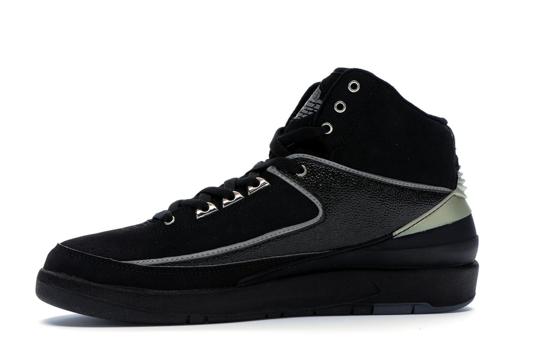 buy popular 2784d 57182 Jordan 2 Retro Black Chrome (2004) - 308308-001