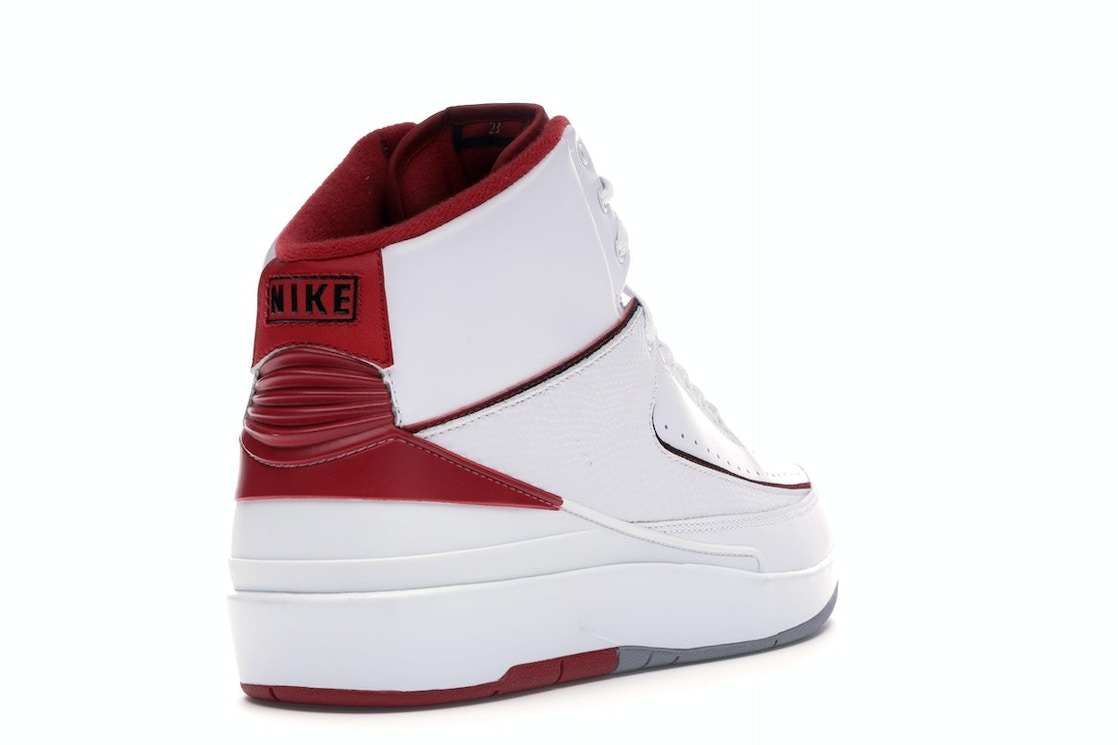 861e651de04 Jordan 2 Retro White Red (2014) - 385475-102