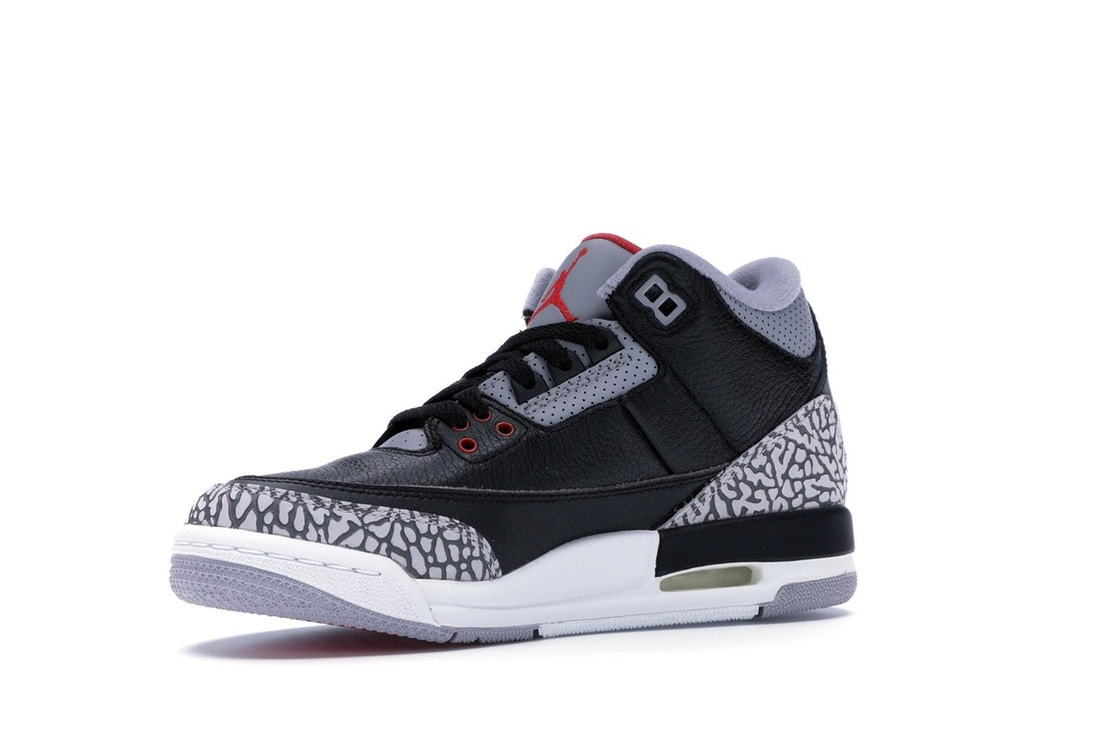 uk availability 26123 30d72 Jordan 3 Retro Black Cement 2018 (GS) - 854261-001