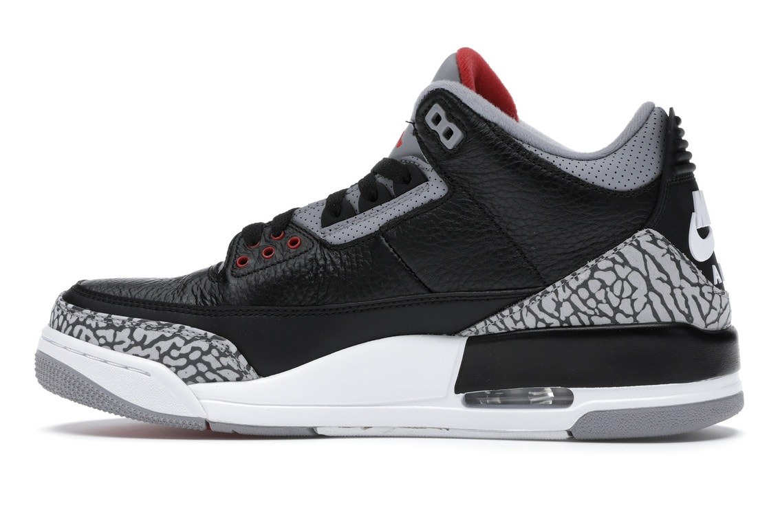 951edc5075714e Jordan 3 Retro Black Cement (2018) - 854262-001