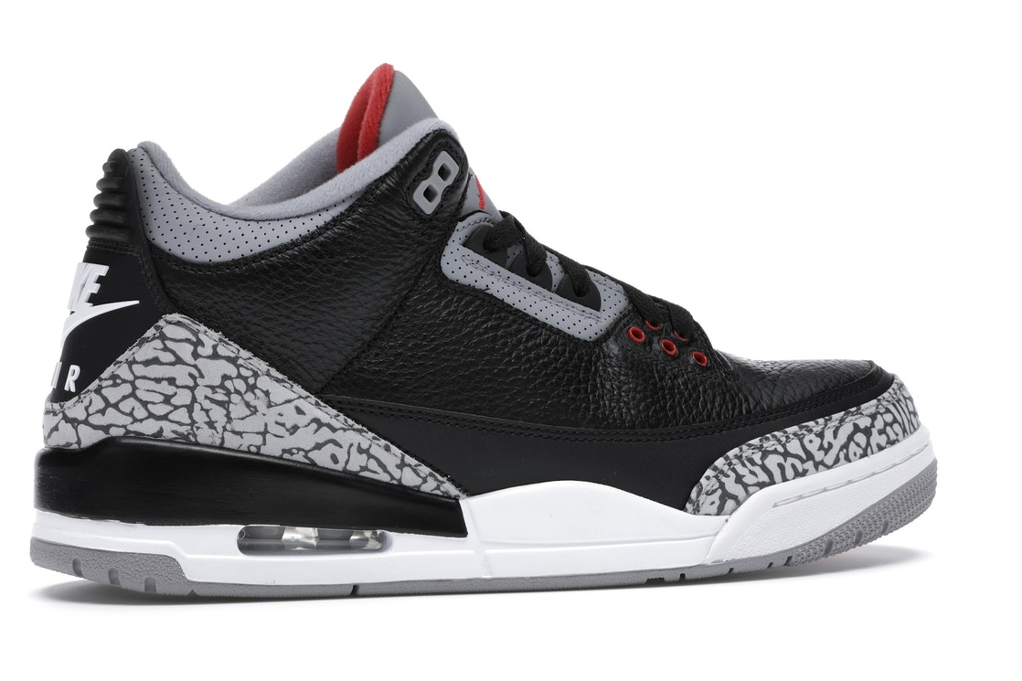 new style 0f013 116ab Jordan 3 Retro Black Cement (2018) - 854262-001