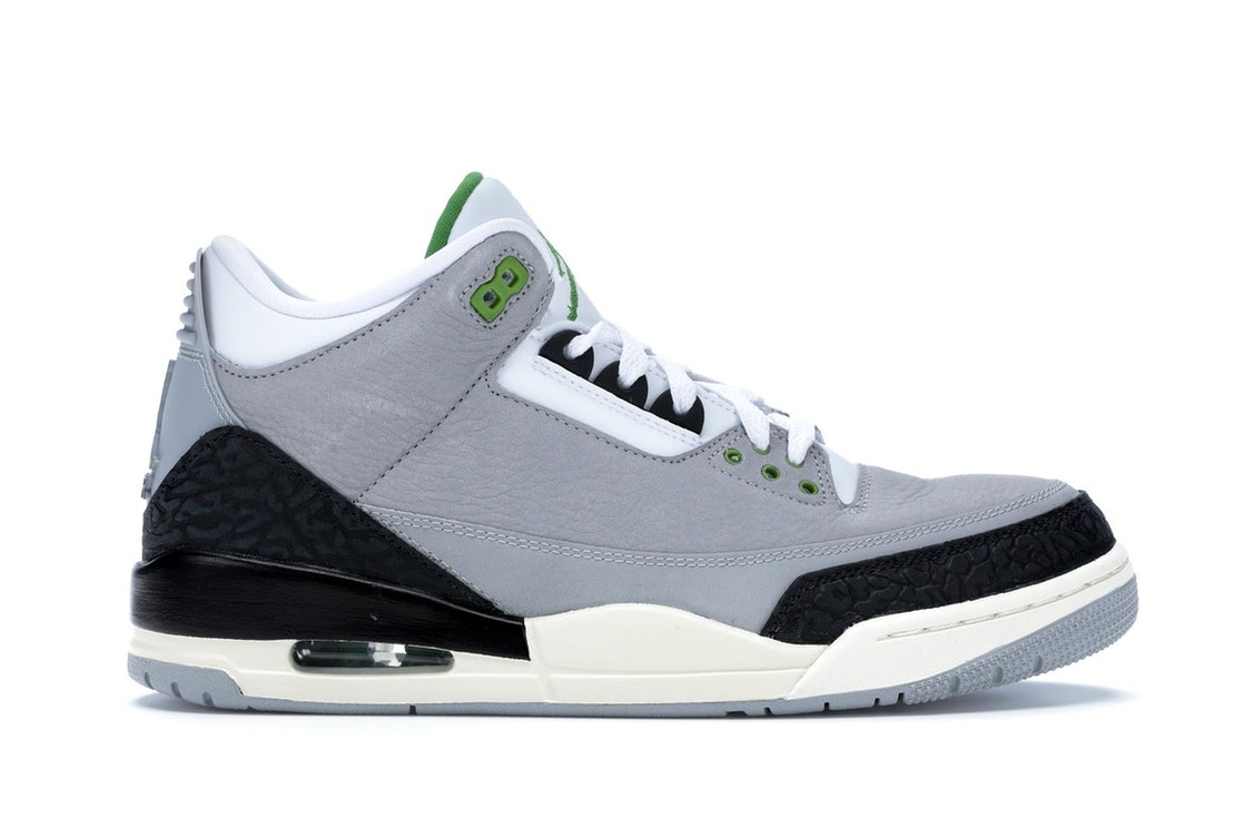 finest selection 27563 01d91 Jordan 3 Retro Chlorophyll
