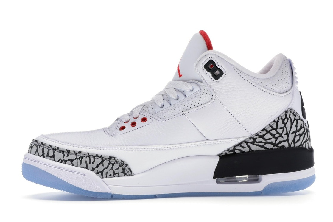 watch 3a686 6779a Jordan 3 Retro Free Throw Line White Cement