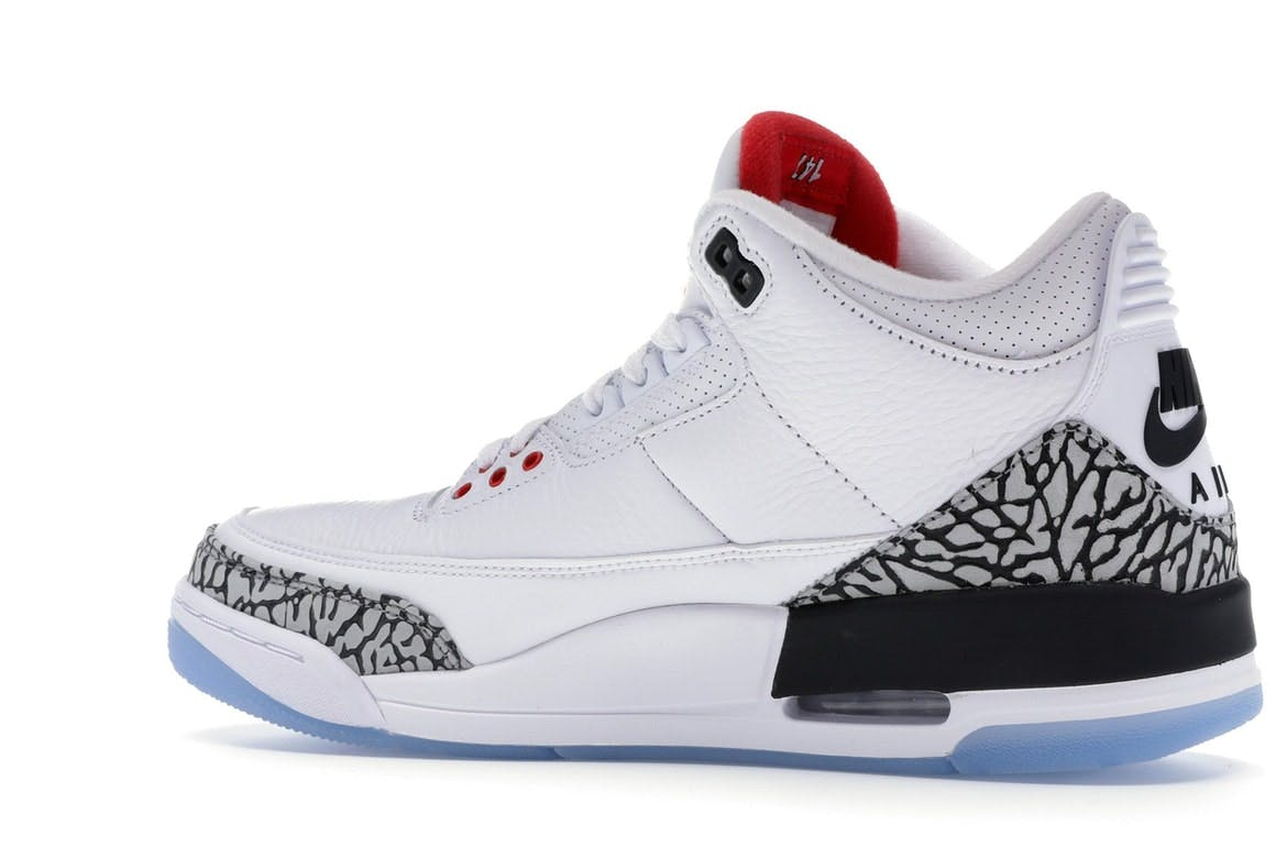 Jordan 3 Retro Free Throw Line White Cement