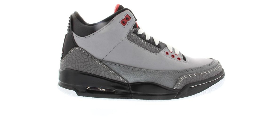 newest 9e7a8 7275a Jordan 3 Retro Stealth - 136064-003