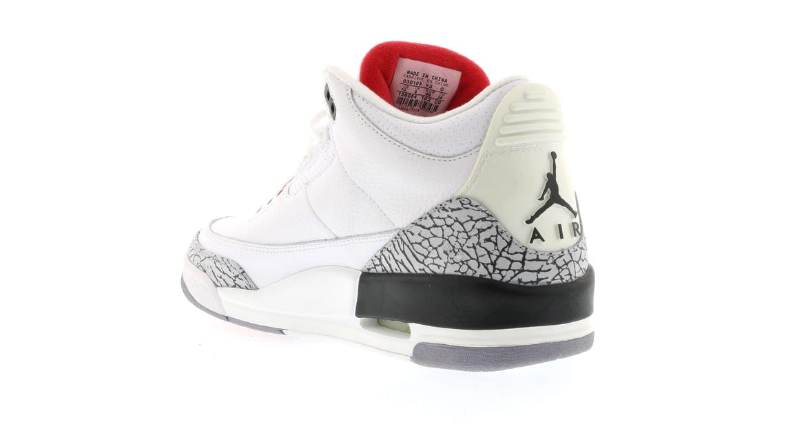 save off e5828 777ee Jordan Retro 3 Cement 2003 | CONMEBOL