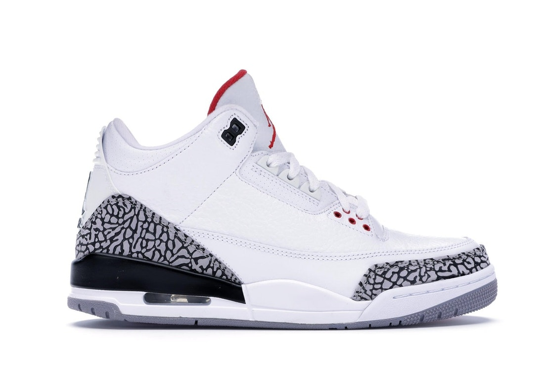 new concept b6df8 5bd42 Jordan 3 Retro White Cement (2011)