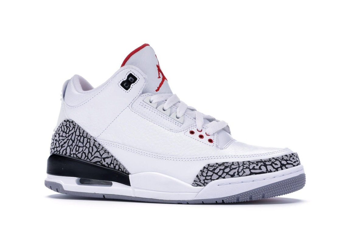 outlet store 168d3 be23f Jordan 3 Retro White Cement (2011) - 136064-105
