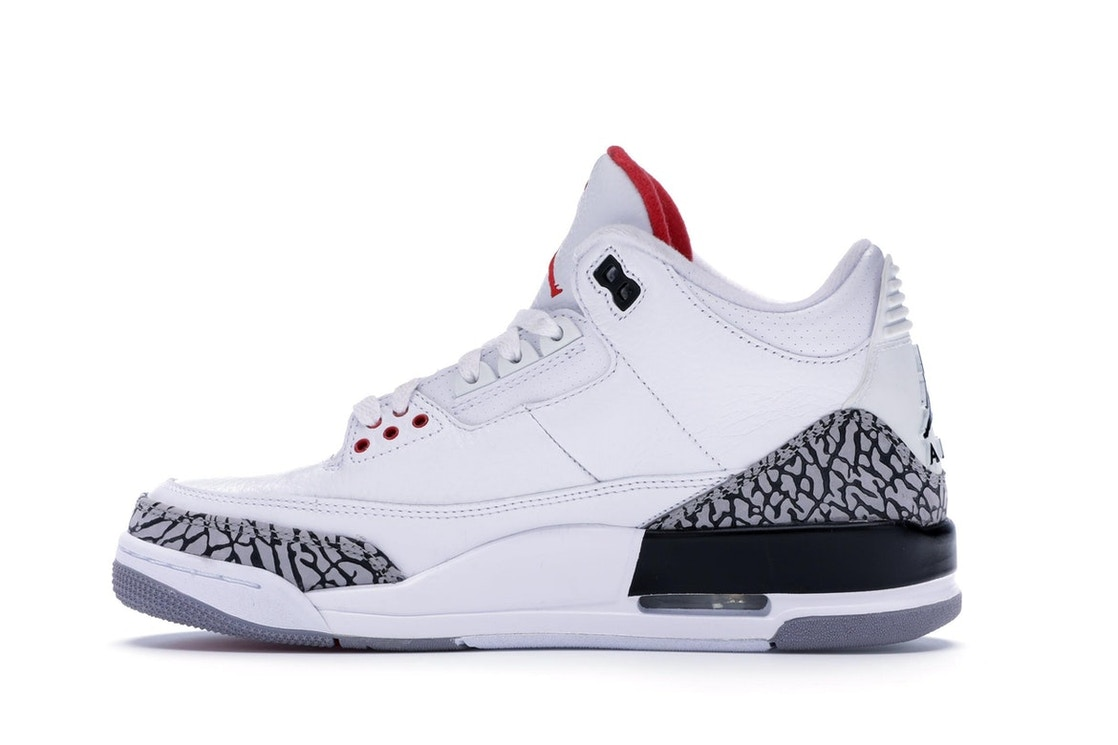 outlet store 82795 08b5d Jordan 3 Retro White Cement (2011) - 136064-105