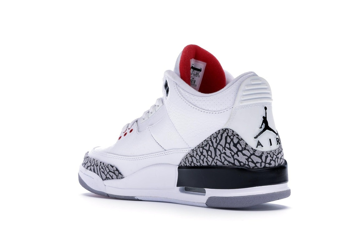 f3c5f4be1a9d Jordan 3 Retro White Cement (2011) - 136064-105