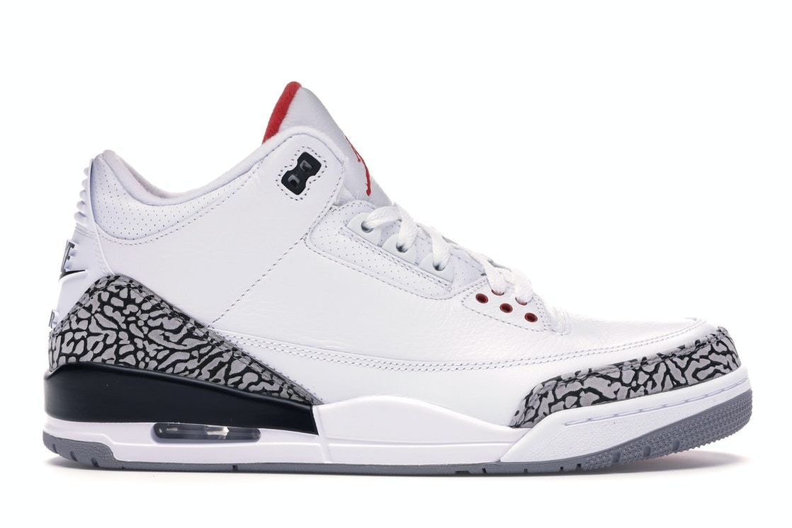 separation shoes 2f163 810ec Jordan 3 Retro White Cement ('88 Dunk Contest 2013)