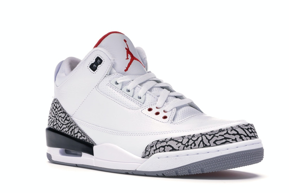 separation shoes 054c2 0a083 Jordan 3 Retro White Cement ('88 Dunk Contest 2013)