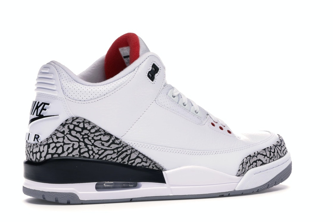 cheapest price how to buy official photos Jordan 3 Retro White Cement ('88 Dunk Contest 2013) - 580775-160