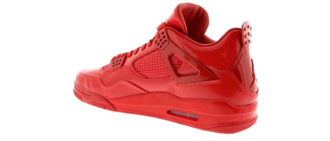 detailed look e15ee 313b4 Jordan 4 Retro 11Lab4 Red - 719864-600