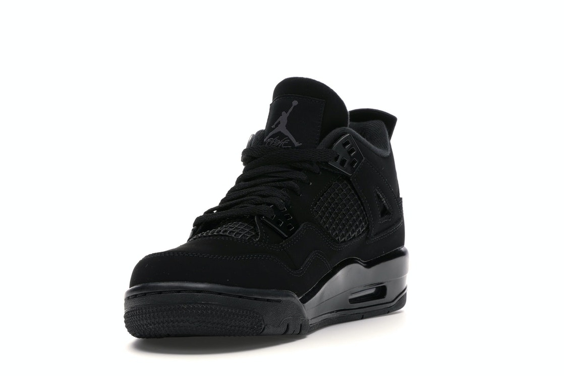 Surrey colorante Anzai  Jordan 4 Retro Black Cat 2020 (GS) - 408452-010