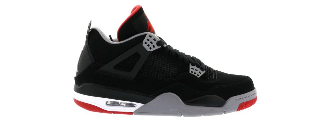 buy popular e3e6f d627e Jordan 4 Retro Black Cement (2012) - 308497-089