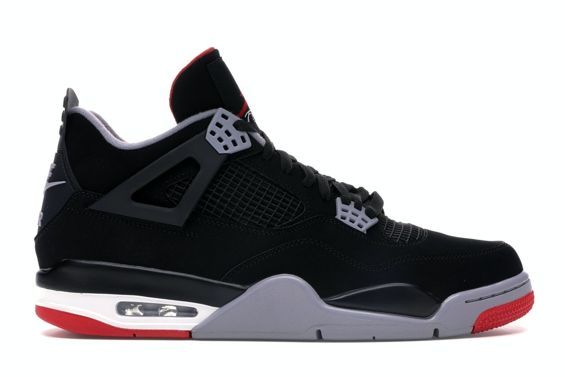 huge selection of c8b6a 3ee97 Jordan 4 Retro Bred (2019) - 308497-060