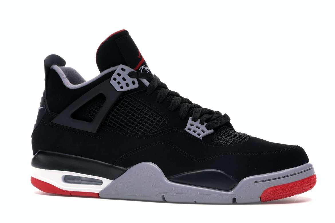 air jordan 4 retro nere