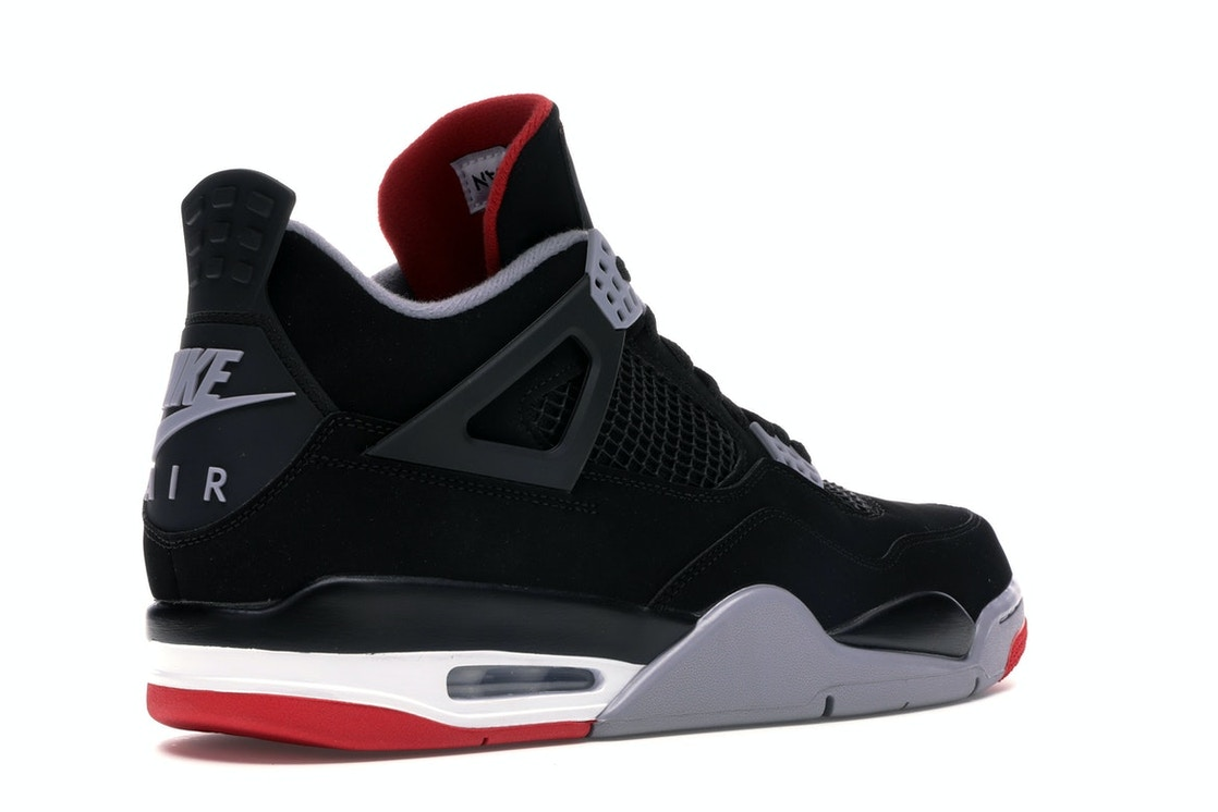 huge selection of 57acd 844e8 Jordan 4 Retro Bred (2019) - 308497-060