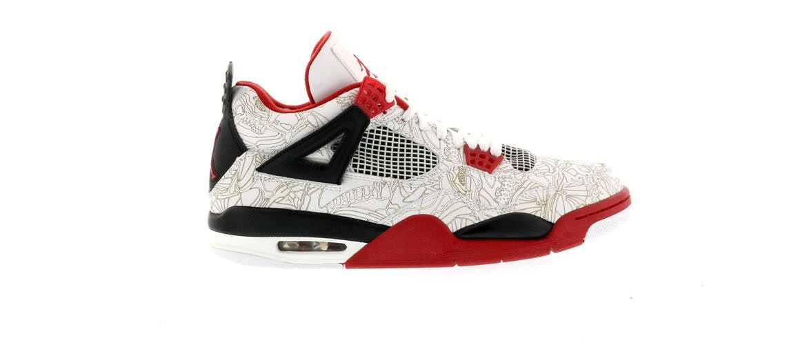 new products 116f5 c583c where to buy jordan 4 retro white laser 3e14a eaef9