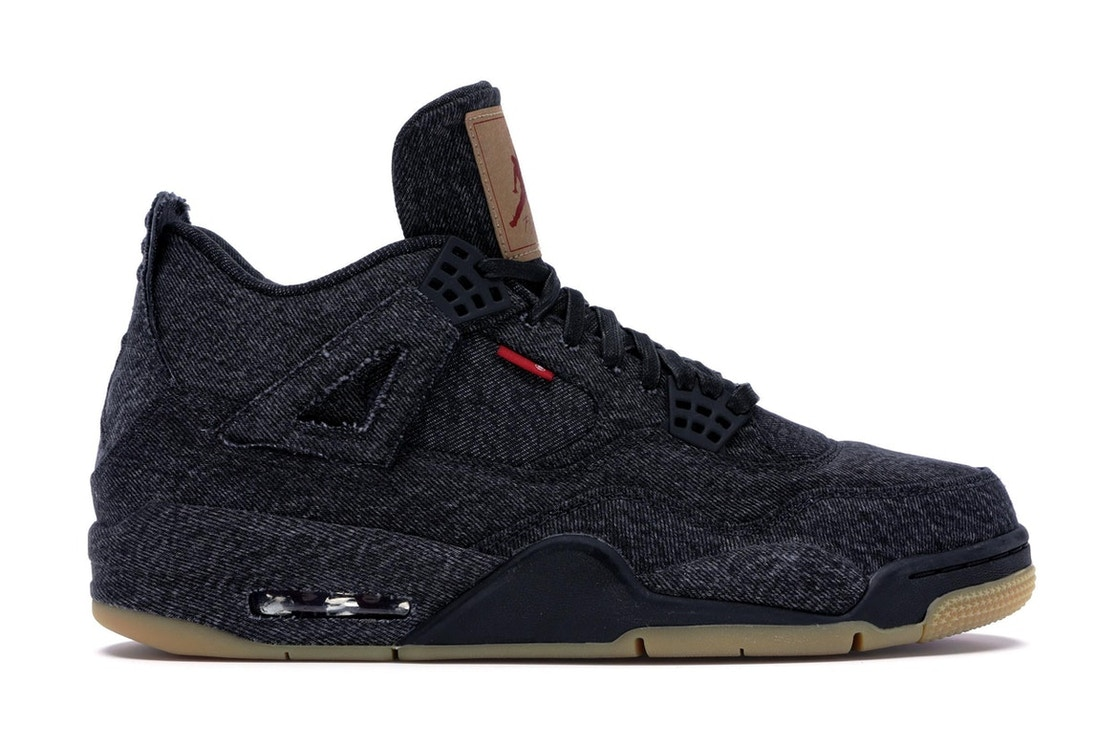 8059418232a0ba Sell. or Ask. Size  8.5. View All Bids. Jordan 4 Retro Levi s Black (Blank  Tag)