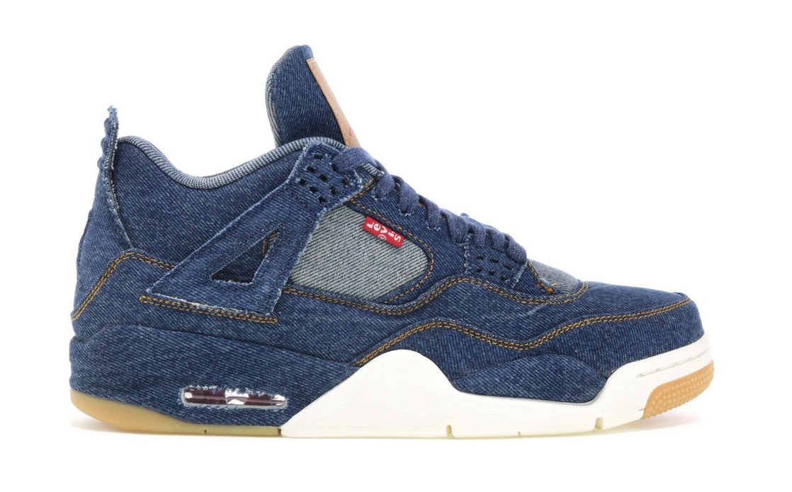 371b697550ec Jordan 4 Retro Levi s Denim (Tag with Levi s Logo) - AO2571-401