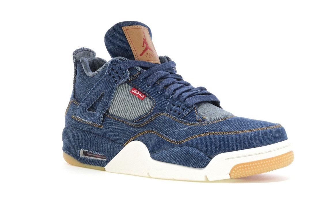 cheaper 71e1a 0fcc3 Jordan 4 Retro Levi's Denim (Tag with Levi's Logo)