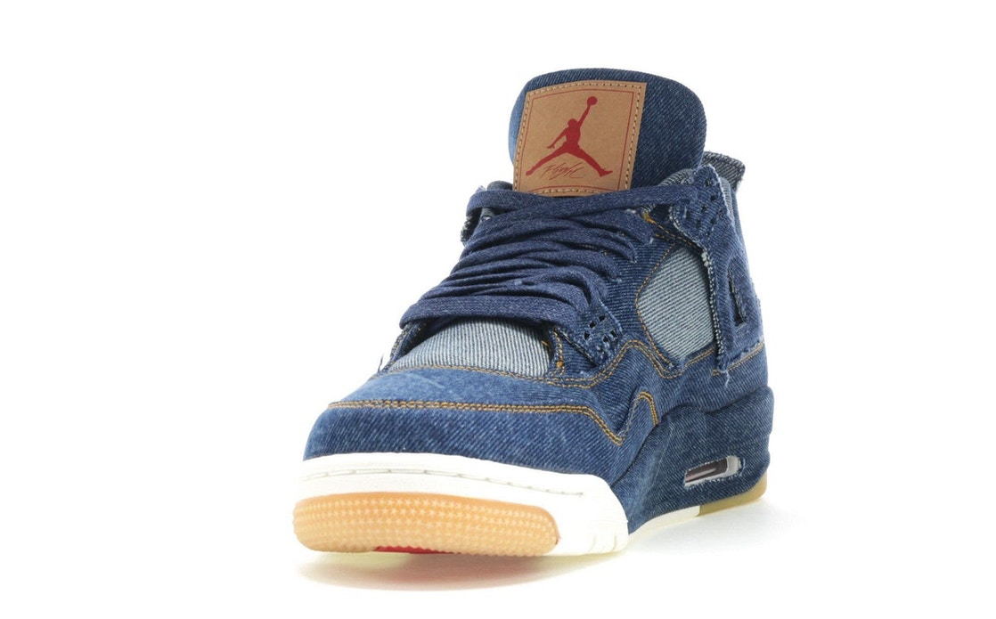 c38bc0b3caae35 Jordan 4 Retro Levi s Denim (Tag with Levi s Logo) - AO2571-401