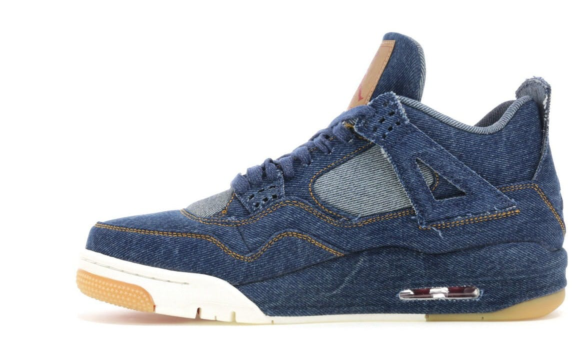 Jordan 4 Retro Levi's Denim (Tag with Levi's Logo)