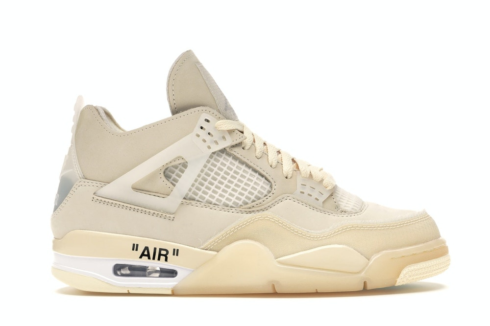 Jordan 4 Retro Off-White Sail (W)