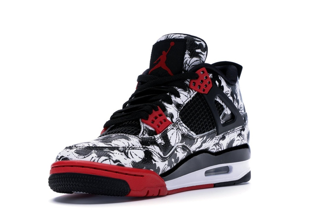 f1842fc21fb7 Jordan 4 Retro Tattoo (2018) - BQ0897-006
