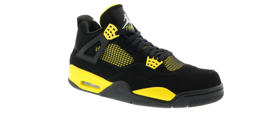 big sale 74055 f5398 Jordan 4 Retro Thunder (2012) - 308497-008