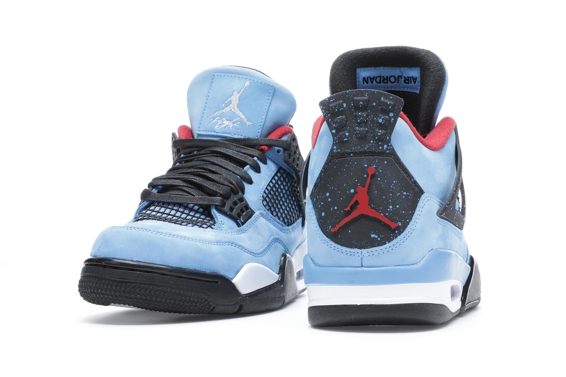 on sale 52bc0 52702 Jordan 4 Retro Travis Scott Cactus Jack - 308497-406