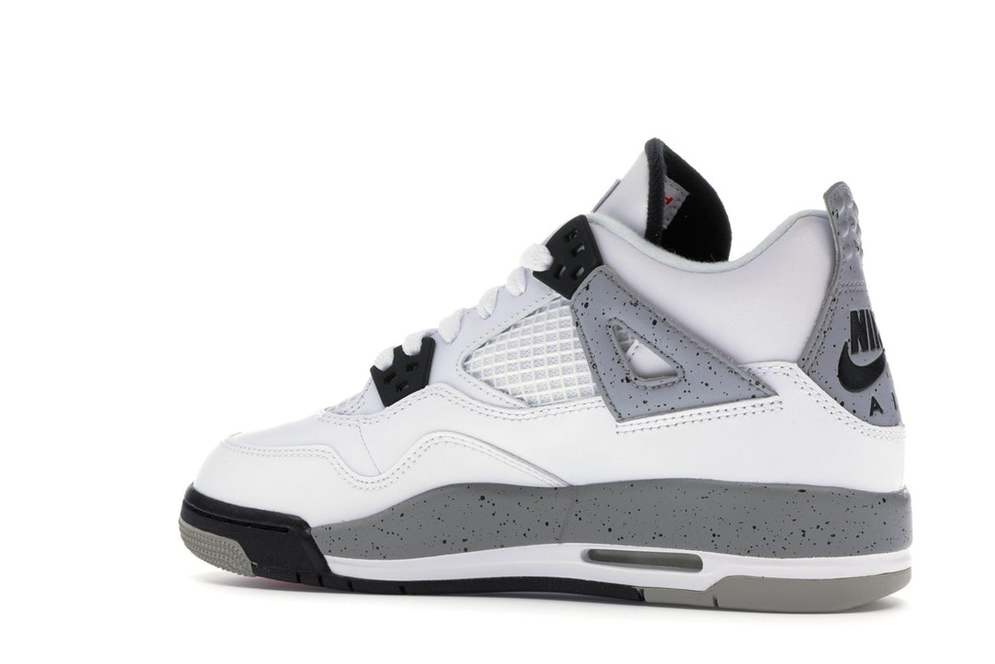 69145e7f74d723 Jordan 4 Retro White Cement 2016 (GS) - 836016-192