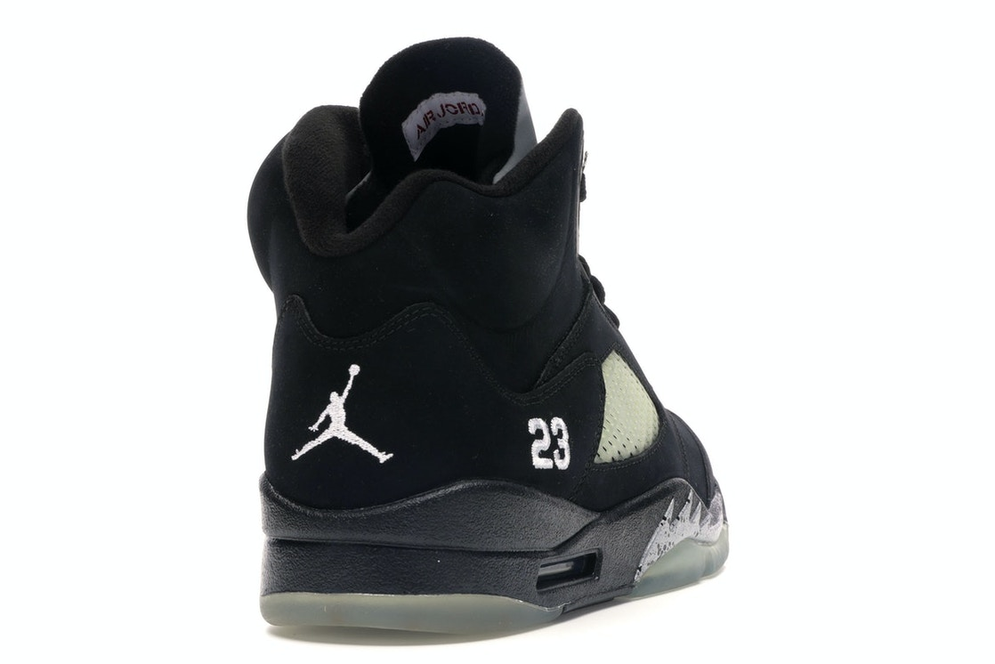 603c3589880 Jordan 5 Retro Black Metallic (2011) - 136027-010