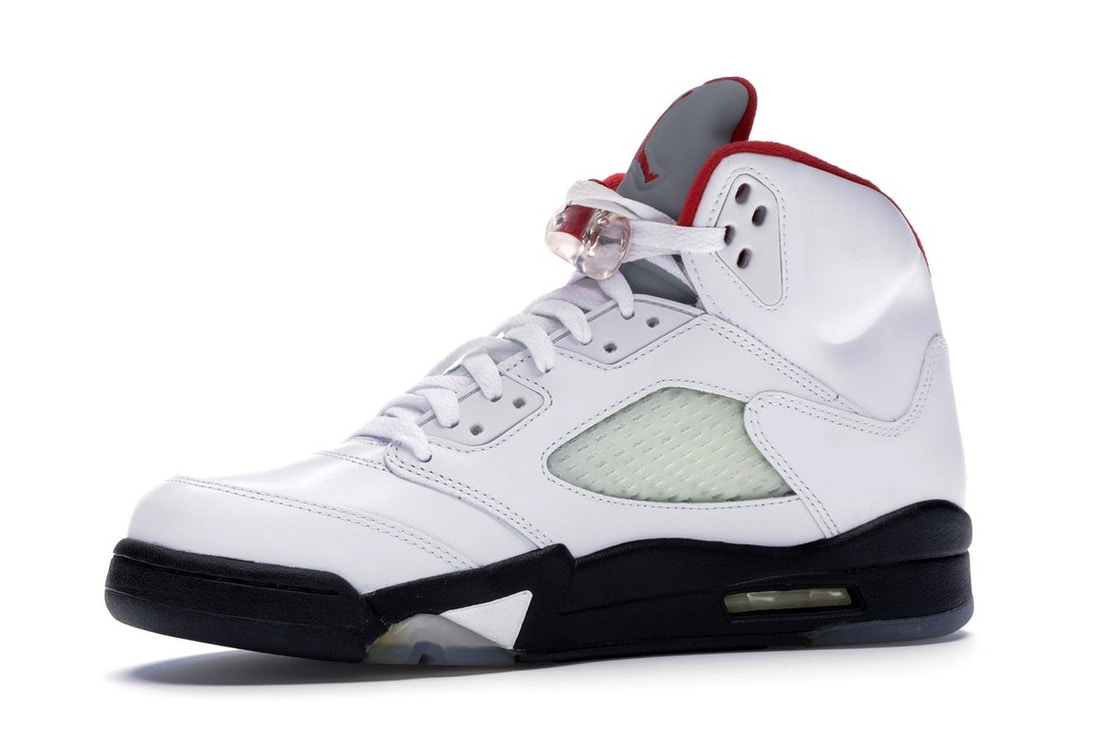 outlet store dd859 c473f Jordan 5 Retro Fire Red (2013) - 136027-100