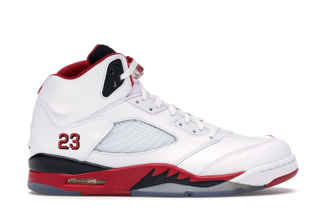 size 40 d34f9 870d5 Jordan 5 Retro Fire Red Black Tongue (2013)