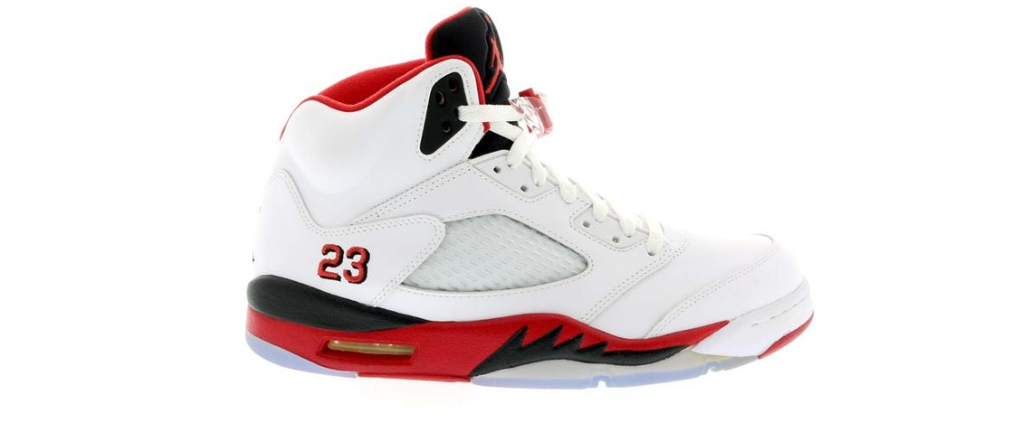 5a63240b999f1b Sell. or Ask. Size 9. View All Bids. Jordan 5 Retro Fire Red Black Tongue  ...