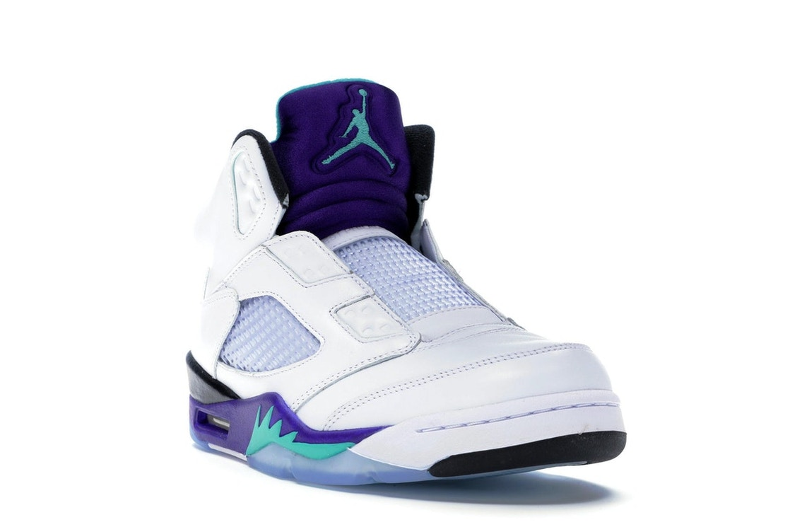 best service dd42a f2551 Jordan 5 Retro Grape Fresh Prince - AV3919-135