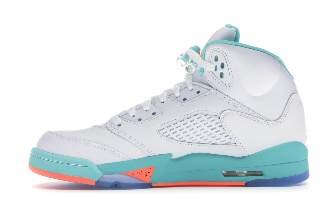 01505feb79cc Jordan 5 Retro Light Aqua (GS) - 440892-100