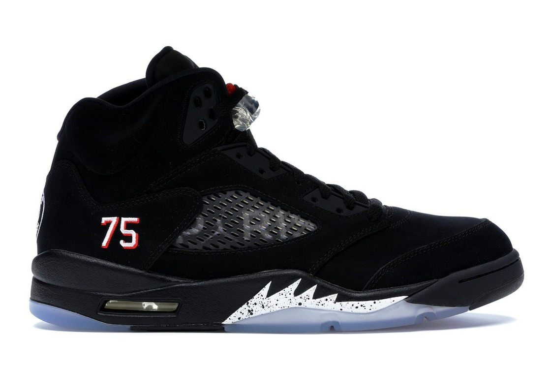 fb96aa17d57e38 Sell. or Ask. Size 9. View All Bids. Jordan 5 Retro Paris Saint-Germain