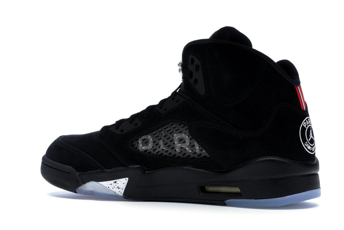 official photos 074f4 d4267 Jordan 5 Retro Paris Saint-Germain